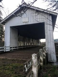 Crawfordsville Bridge on the Calapooya River, built 1932